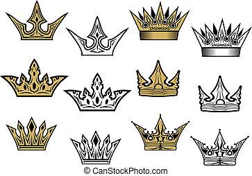 heraldic, 王冠