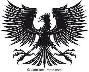 heraldic, 鷹