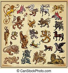 heraldic beast collection