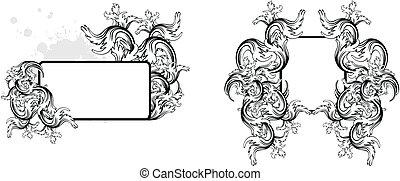 heraldic coat of arms copyspace4
