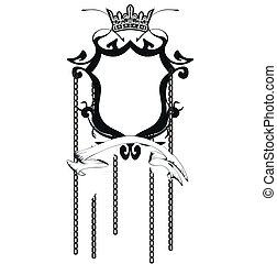 heraldic coat of arms copyspace8