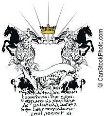 heraldic coat of arms ornament 5