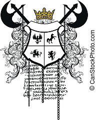 heraldic coat of arms ornament 6