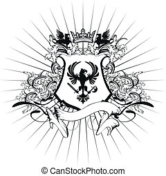 heraldic coat of arms ornament 8