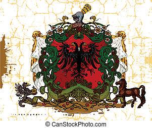 heraldic, desenho