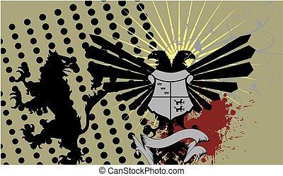 heraldic eagle coat of arms crest4