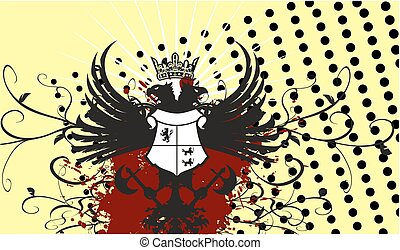heraldic eagle coat of arms crest5