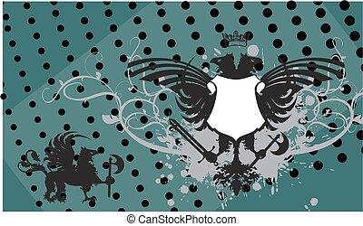heraldic eagle coat of arms crest7