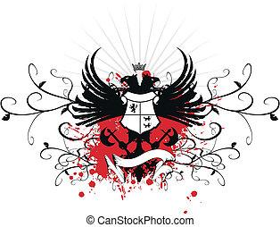 heraldic eagle double head 6 - heraldic eagle double head...