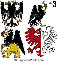 Heraldic Eagles 3 - Heraldic Eagles vol.3 - Coloured...