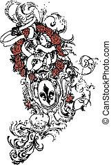 Heraldic element