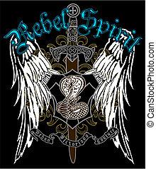 heraldic, emblema