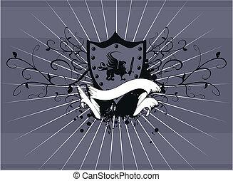 heraldic gryphon coat of arms 3