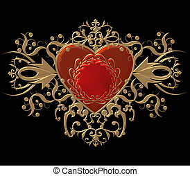 heraldic heart