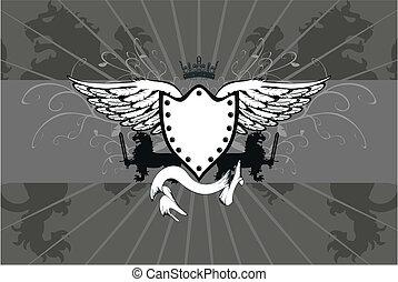heraldic lion coat of arms05