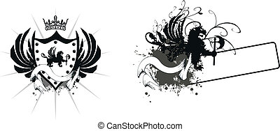 heraldic lion coat of arms2