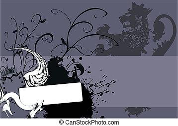 heraldic lion coat of arms6