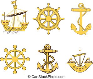 Heraldic marine set