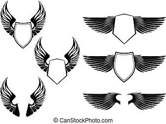 heraldic, símbolos