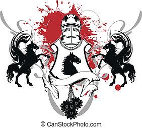 heraldic shield coat of arms crest4