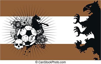 heraldic shield coat of arms fut3