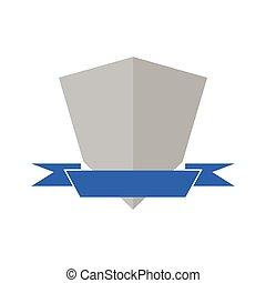heraldik, isolerat, skydda