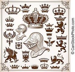 heraldik, resurser