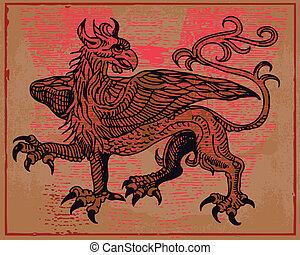 heraldisch, griffin
