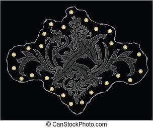 heraldisch, kam