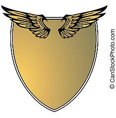 heraldisch, vleugel