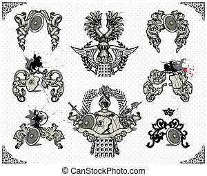 heraldisk, design