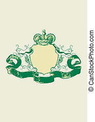 heraldisk, skydda