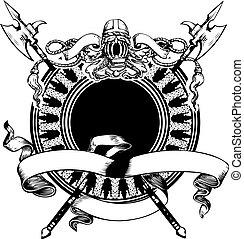 Heraldry Composition.