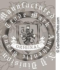 Heraldry Illustration