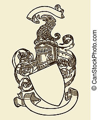 Heraldry shield - Heraldry shield