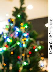 heraus, baum, Weihnachten, Fokus