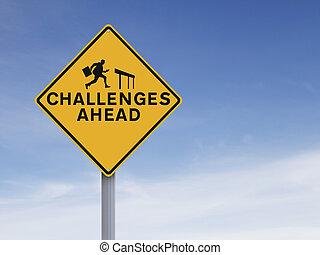 herausforderungen, voraus