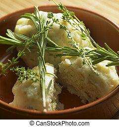 herbário, dumplings