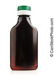 herbário, shampoo, garrafa