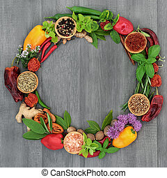 Herb and Spice Wreath