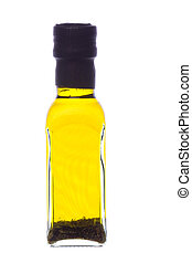 Herb Dipping Oil Isolated - Isolated image of Italian Style...