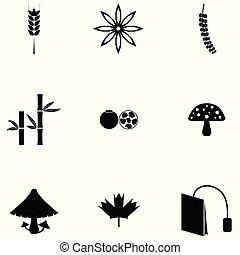 herb icon set