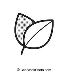 herb icon vector design