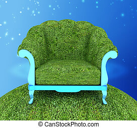 Herbal armchair