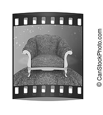 Herbal armchair. The film strip