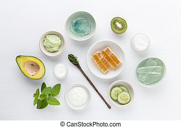 Herbal dermatology cosmetic hygienic cream for beauty and...