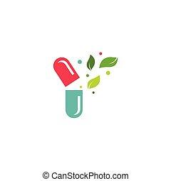 herbal, kapsel