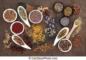 Herbal Medicine - Herbal medicine selection also used in ...