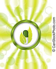 Herbal pill brochure