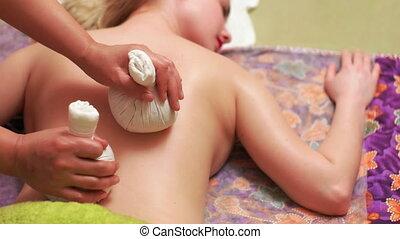 Herbal Pouch Thai Massage